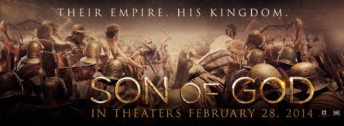 """""""Son of God"""" Movie Poster"""